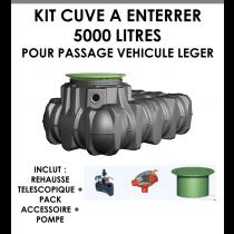 """Kit à enterrer """"Habitat PLATINE Eco Plus"""" 5000 litres-20"""