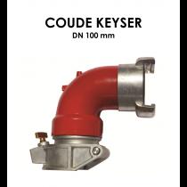 Coude Keyser DN 100 mm-20