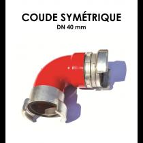 Coude symétrique DN 40-20