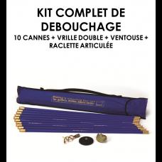 Kit complet de débouchage-20
