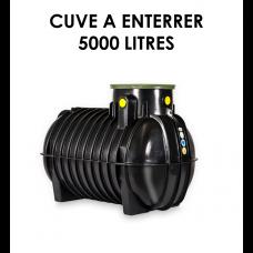 Réservoir de récupération d'eau de pluie à enterrer 5000 litres-20