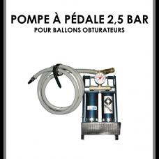 Pompe à pédale 2,5 bar-20