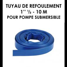 """Tuyau de refoulement 1"""" 1/2 10 m pour pompe submersible-20"""