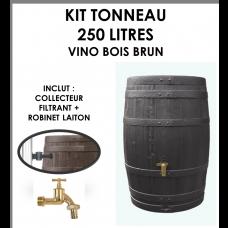 Kit tonneau Vino Brun 250 litres-20