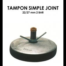 Tampon simple joint diamètre 22/27mm 2 bar-20