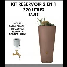 Kit reservoir 2 en 1 VASO 220 litres taupe-20
