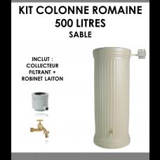 Kit colonne romaine sable 500 litres-20