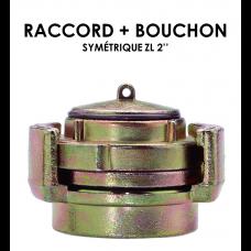 """Raccord + Bouchon symetrique ZL 2""""-20"""