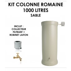 Kit colonne romaine sable 1000 litres-20