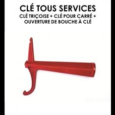Clé tous services alu-20