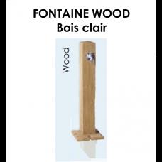 Fontaine WOOD en PE Bois clair-20