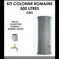 Kit colonne romaine gris 500 litres-20
