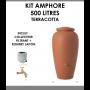 Kit amphore Terracotta 500 litres