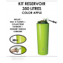 Kit reservoir COLOR 350 litres APPLE