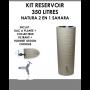 Kit reservoir NATURA 2 en 1 Sahara 350 litres