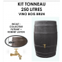 Kit tonneau Vino Brun 250 litres