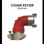 Coude Keyser DN 65 mm