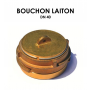 Bouchon laiton DN 40