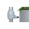 Kit reservoir 2 en 1 300 litres Moka avec bac à fleur amovible-01