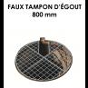 Faux tampon d'égouts diamètre 800 mm-01