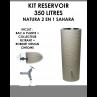 Kit reservoir NATURA 2 en 1 Sahara 350 litres-01