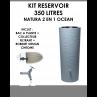 Kit reservoir NATURA 2 en 1 Ocean 350 litres-01