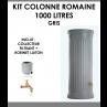 Kit colonne romaine gris 1000 litres-01