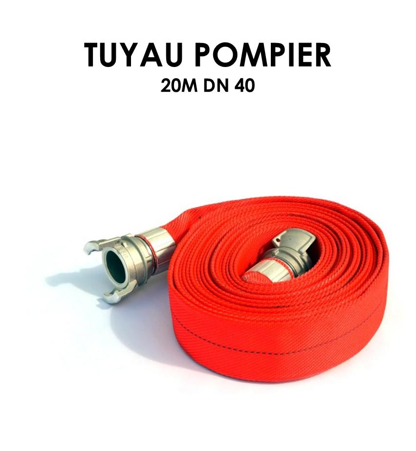 Tuyau pompier 20m DN 40-01
