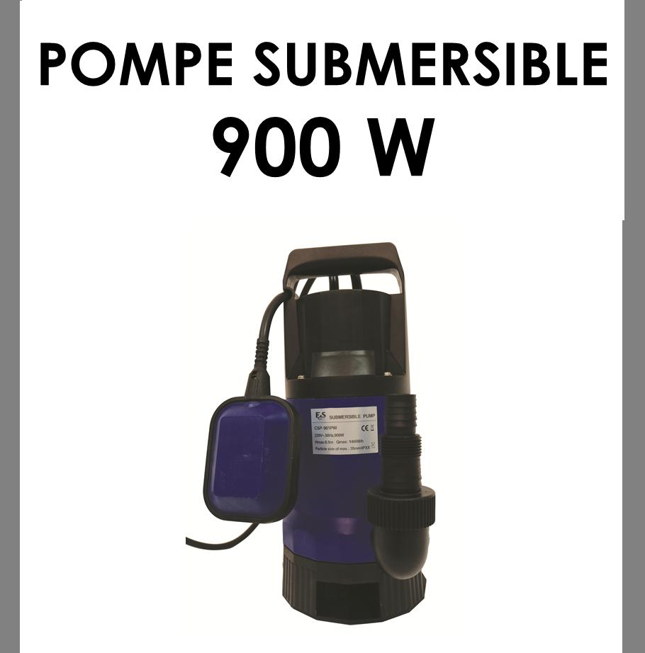 Pompe submersible 900 W-02