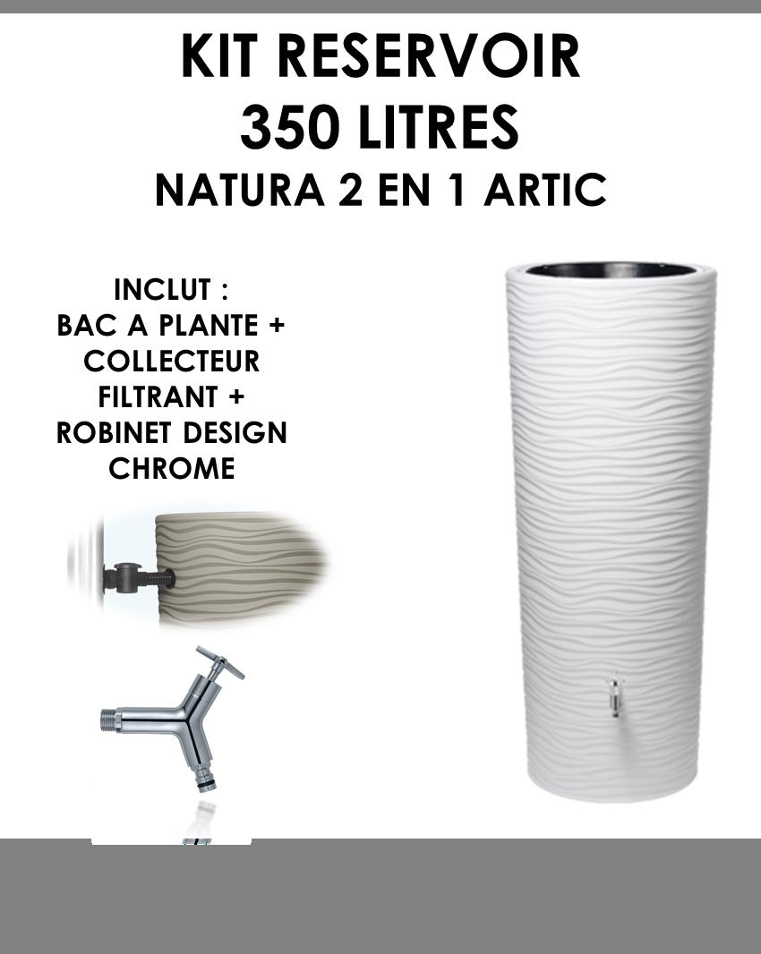 Kit reservoir NATURA 2 en 1 Artic 350 litres-01