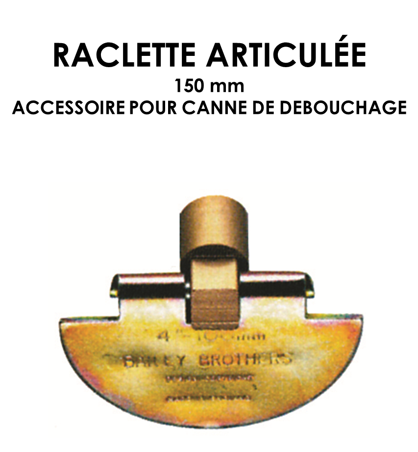 Raclette articulée 150mm-01
