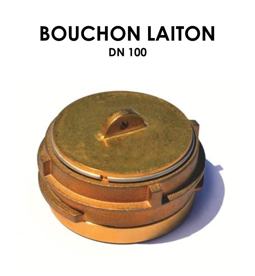 Bouchon laiton DN 100-01