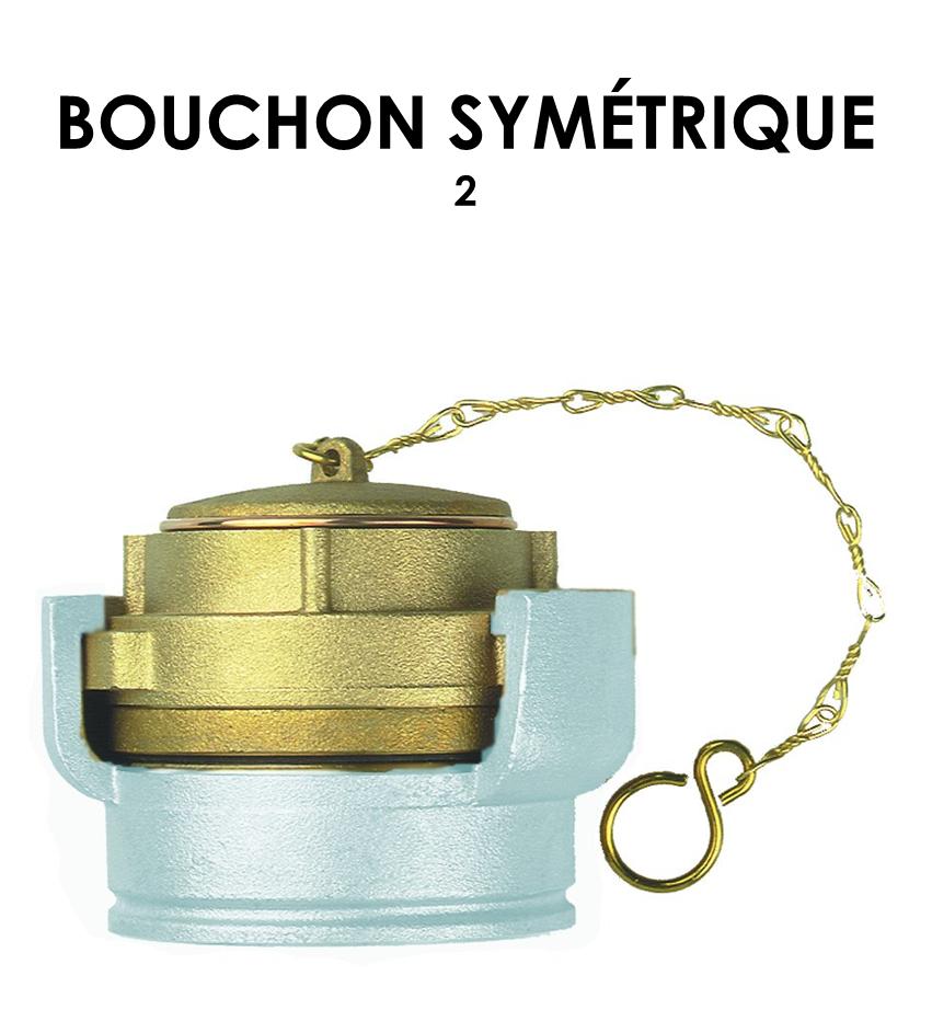 Bouchon symétrique 2-01
