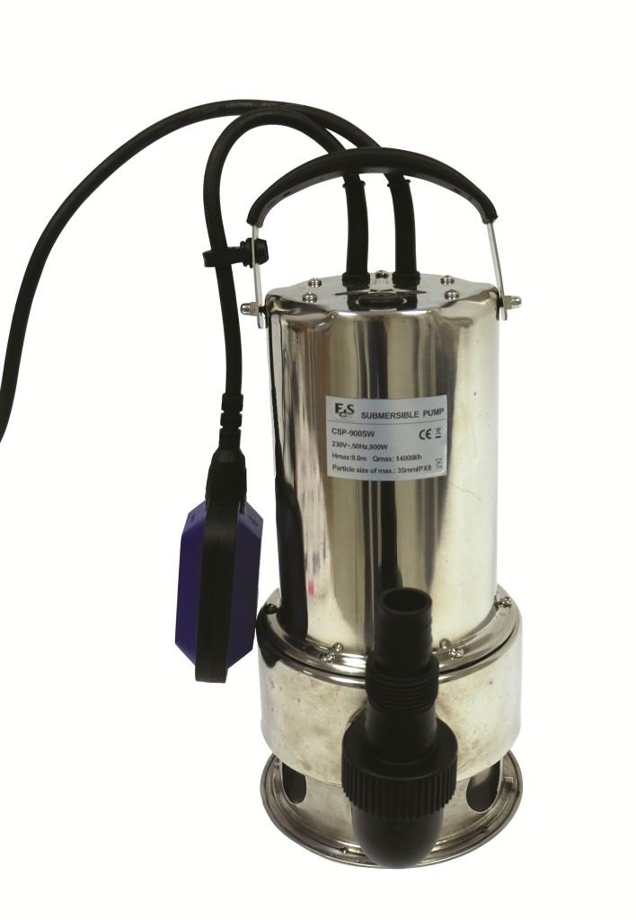 Pompe submersible 550 W Inox-02
