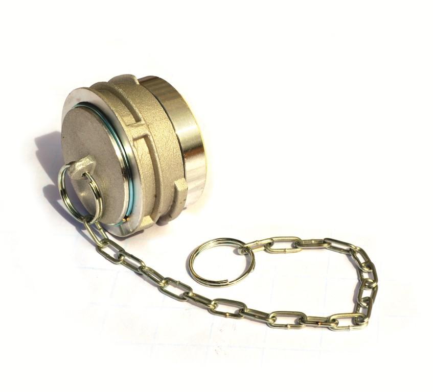 Bouchon avec verrou à chaînette DN 100-01
