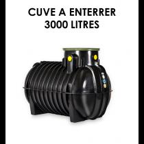 Réservoir de récupération d'eau de pluie à enterrer 3000 litres-20