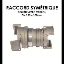 Jonction symétrique double avec verrou DN 125 100 mm-20