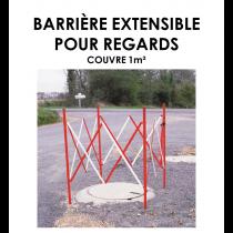 Barrière extensible pour regards-20