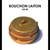 Bouchon laiton DN 40-20