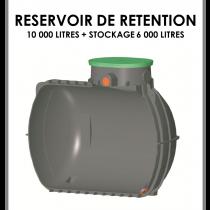 Réservoir de rétention 10000 litres stockage 6000 litres-20