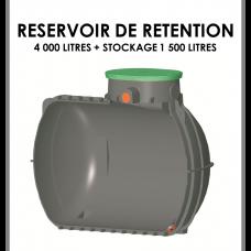 Réservoir de rétention 4000 litres stockage 1500 litres-20