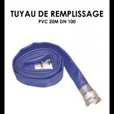 Tuyaux de remplissage PVC 20m DN 100-20