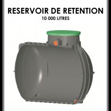Réservoir de rétention 10000 litres stockage 0 litre-20