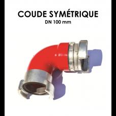 Coude symétrique DN 100-20