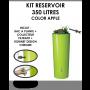 Kit reservoir COLOR 350 litres APPLE