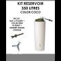 Kit reservoir COLOR 350 litres COCO