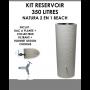 Kit reservoir NATURA 2 en 1 Beach 350 litres