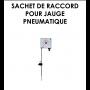 Sachet raccord Jauge Pneumatique