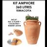 Kit amphore ANTIK TERRACOTTA 360 litres-01