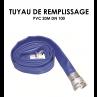 Tuyaux de remplissage PVC 20m DN 100-01